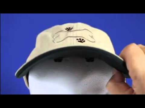 LED Lighted Dog Walking Hats Custom Embroidery Baseball Cap with Hands Free  Light Dog Luv