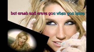 Your love is my drug - Ke$ha[Karaoke/Instrumental] Official!