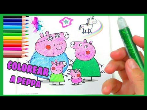 colorear-dibujos-peppa-pig-|-juguetes-trás