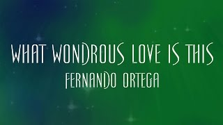 What Wondrous Love Is This - Fernando Ortega