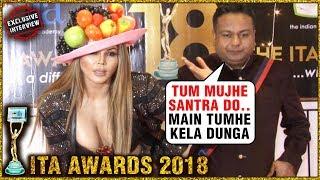 Rakhi Sawant & Deepak Kalal HILARIOUS Interview at ITA Awards