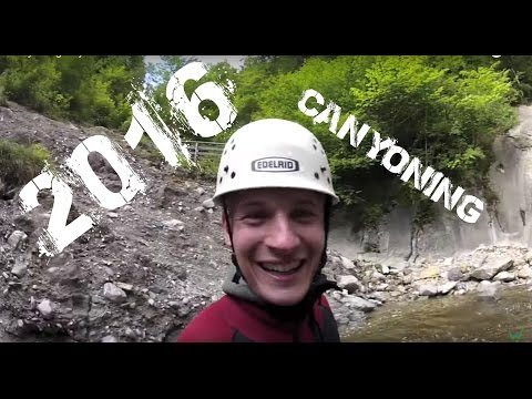 Canyoning Bayern - Outdoor Trailer 2016