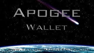 An introduction to Christopher Taylor's Apogee Wallet, now availabl...