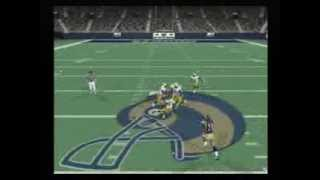 NFL QB Club 2002 Playstation 2 (Packers vs Rams)