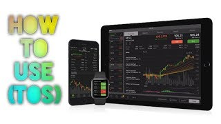 How To Set Up & Use TD Ameritrade ThinkOrSwim (TOS) Platform