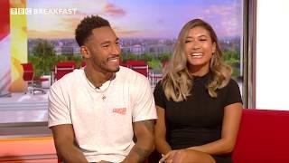 Love Island's Josh and Kaz speak to BBC Breakfast