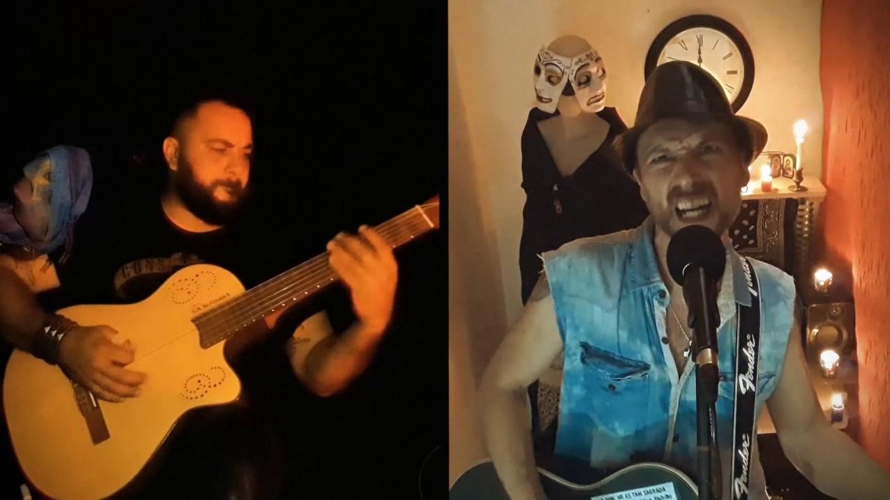 LA CONTRASEÑA ROCK - SUCIO Y DESPROLIJO / Pappo`s Blues (ACÚSTICO EN CUARENTENA)