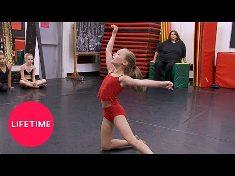 Dance Moms: Melissa's Angel (Season 1 Flashback) | Lifetime