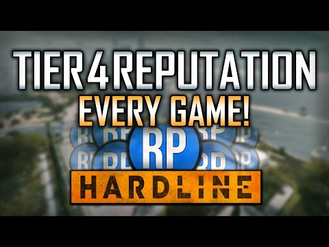 Battlefield: Hardline - TIER 4 REP! How To Get Tier 4 Rep Every Game! [Fast & Easy]
