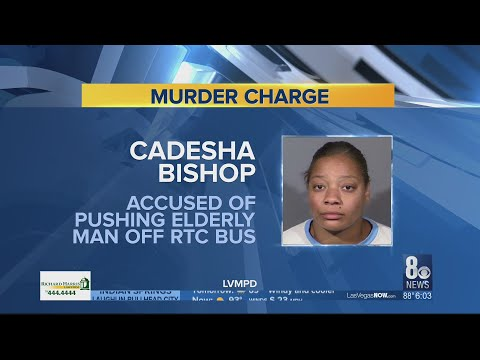 Neighbors details moments surrounding woman accused of pushing elderly man off bus' arrest