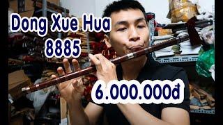 Dizi cao cấp Dong Xue Hua 8885 | Test Dizi cho khách Vip Sài Gòn | Sáo Trúc Cao Định