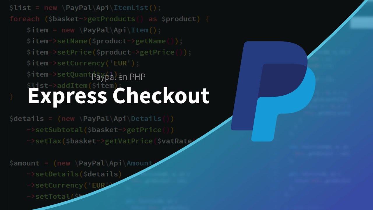 Tutoriel php paypal express checkout youtube tutoriel php paypal express checkout baditri Images