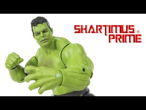 Marvel Legends Hulk BAF Build A Figure Avengers Endgame Wave 2 Hasbro Movie Action Figure Toy Review