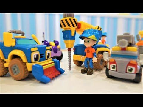 Распаковка машинок и герои мультика Рев и заводная команда - Игрушки для мальчиков