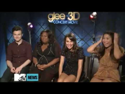 Glee Cast Talking