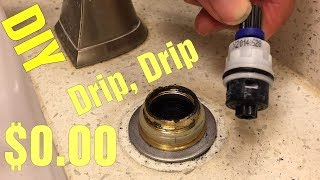 What is a Faucet Cartridge? Dripping Price Pfister Faucet, Cartridge Replacement in 15min How to.