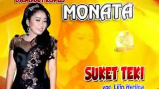Video SUKET TEKI-DANGDUT KOPLO MONATA-LILIN HERLINA download MP3, 3GP, MP4, WEBM, AVI, FLV Agustus 2017