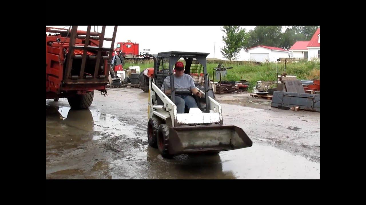 1991 Bobcat 440b Skid Steer For Sale