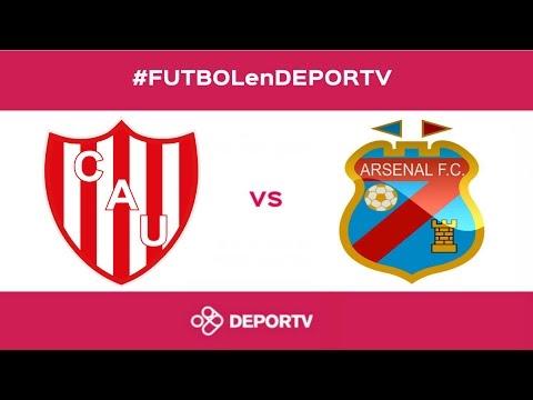 #FUTBOLenDEPORTV - Unión de Santa Fe vs Arsenal - Primera División 2016/2017 - Fecha 25
