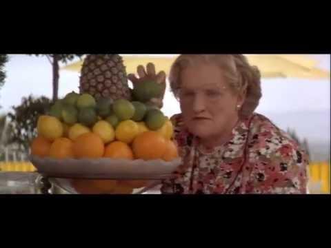 Mrs Doubtfire Pool Scene Funny