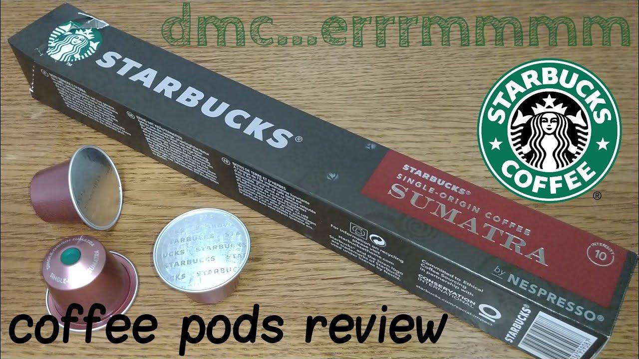 Starbucks Sumatran Coffee Pods By Nespresso