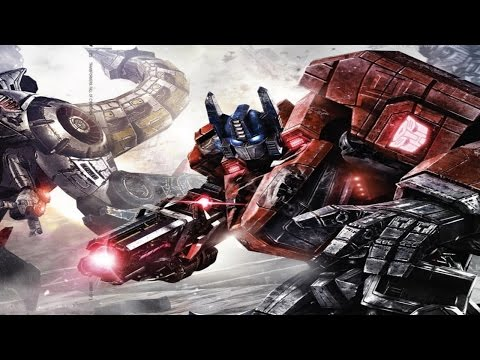 Transformers. War for Cybertron. All Cutscenes Game Movie 1080p PC