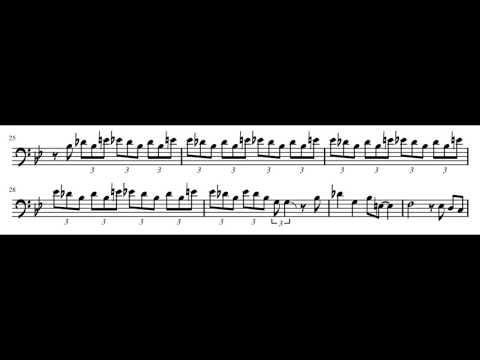 Blue Monk - Andy Martin Trombone Solo Transcription mp3