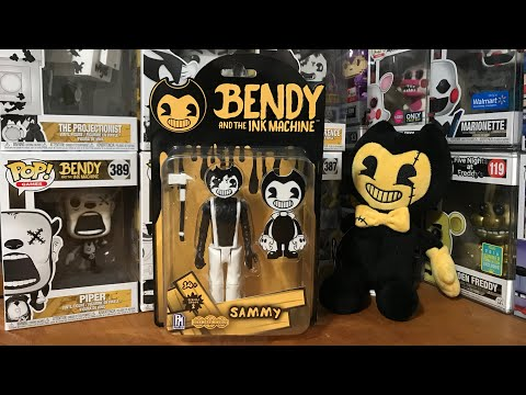 NEW Bendy And The Ink Machine Sammy Lawrence Action Figure Unboxing Review BATIM