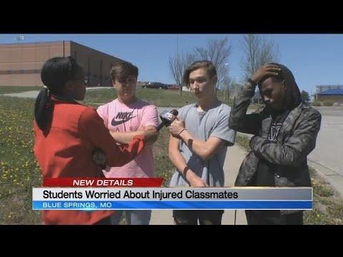 Crash near Blue Springs South High School leaves 2 teens hospitalized