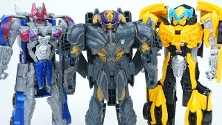 TRANSFORMERS THE LAST KNIGHT ARMOR MEGATRON FULL COLLECTION WAVE 2 OPTIMUS PRIME BUMBLEBEE TOYS