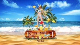 New Skin: Summer Bash Violet | Arena of Valor