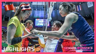 China vs Thailand | Highlights | Semifinals | AVC Asian Senior Women's Volleyball Championship 2019
