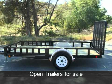 6x12 Open Utility Trailer for sale /877-292-4451 /