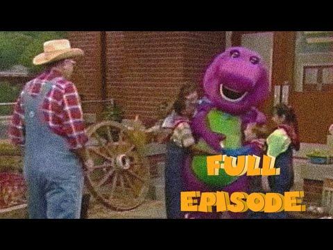 Barney & Friends: Down on Barney's Farm 💜💚💛   Season 1, Episode 10   Full Episode   SUBSCRIBE