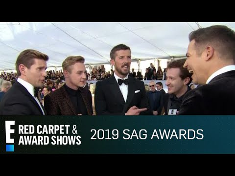 """Bohemian Rhapsody"" Cast Reacts to ""Unbelievable Response""  E Red Carpet & Award Shows"
