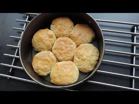 Easy Buttermilk Biscuits (vegan)