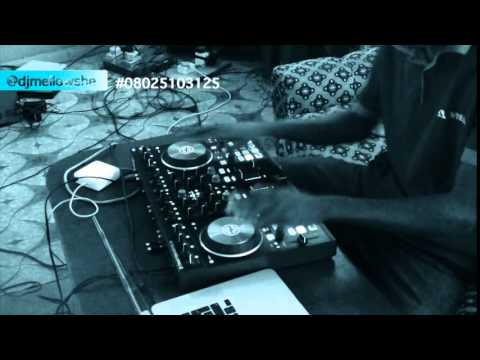 DJ MELLOWSHE SCRATCHING/BEAT JUGGLING with KONTROL S4 MK2