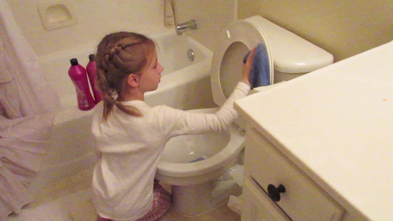 Kids can clean the bathrooms - Kids Can Clean The Bathrooms 22