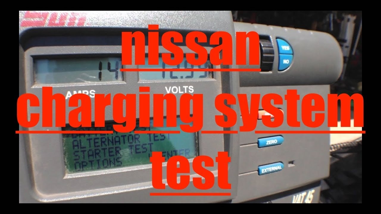 Battery Test Charging System Nissan Altima Fix It Angel