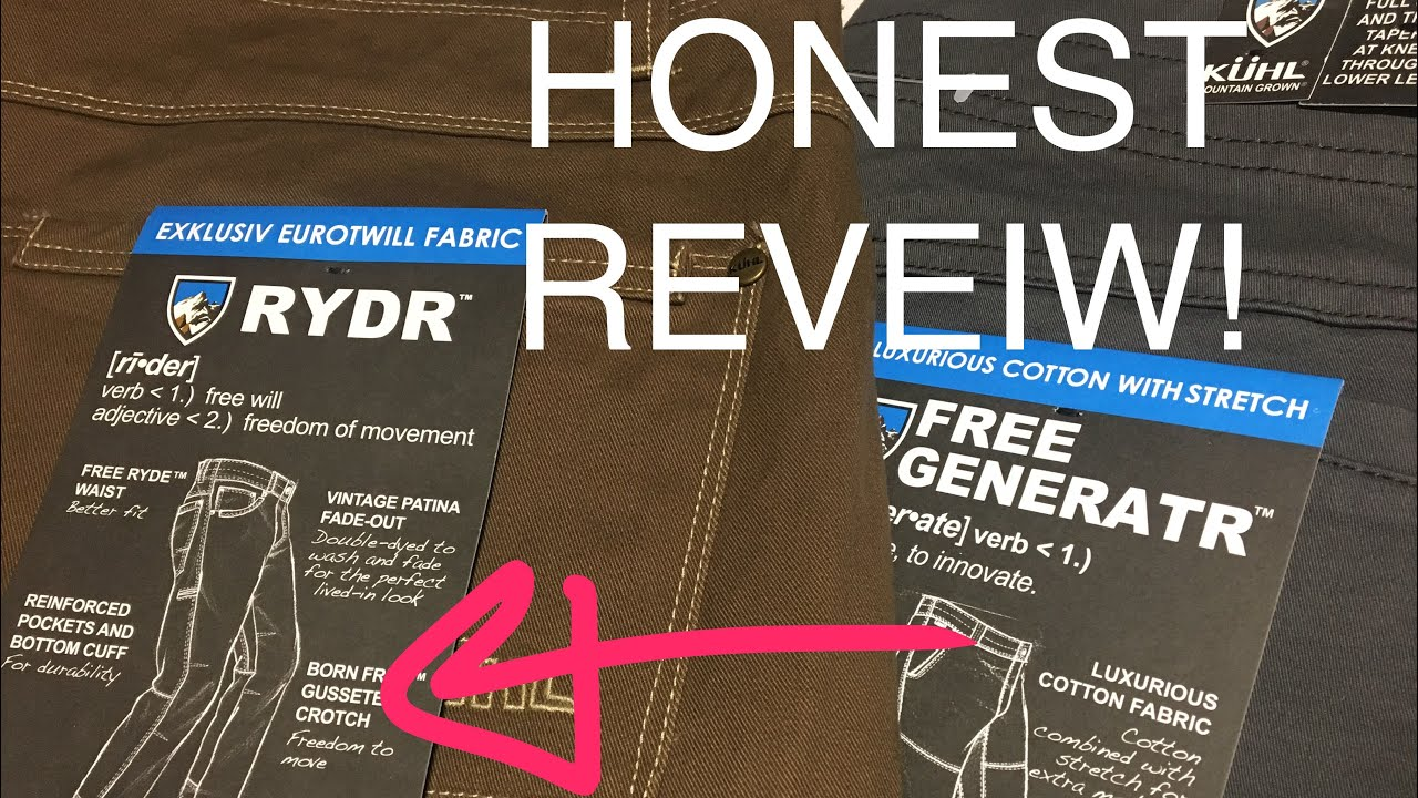 Download KUHL RYDR PANT REVIEW