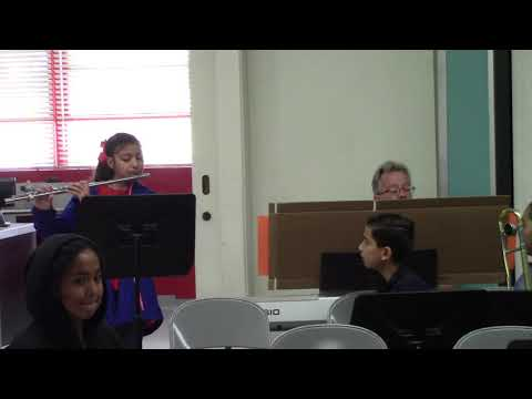 2019 Fremont School Math Facts Concert - part 1 of 3