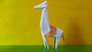 Жираф оригами, Giraffe Origami
