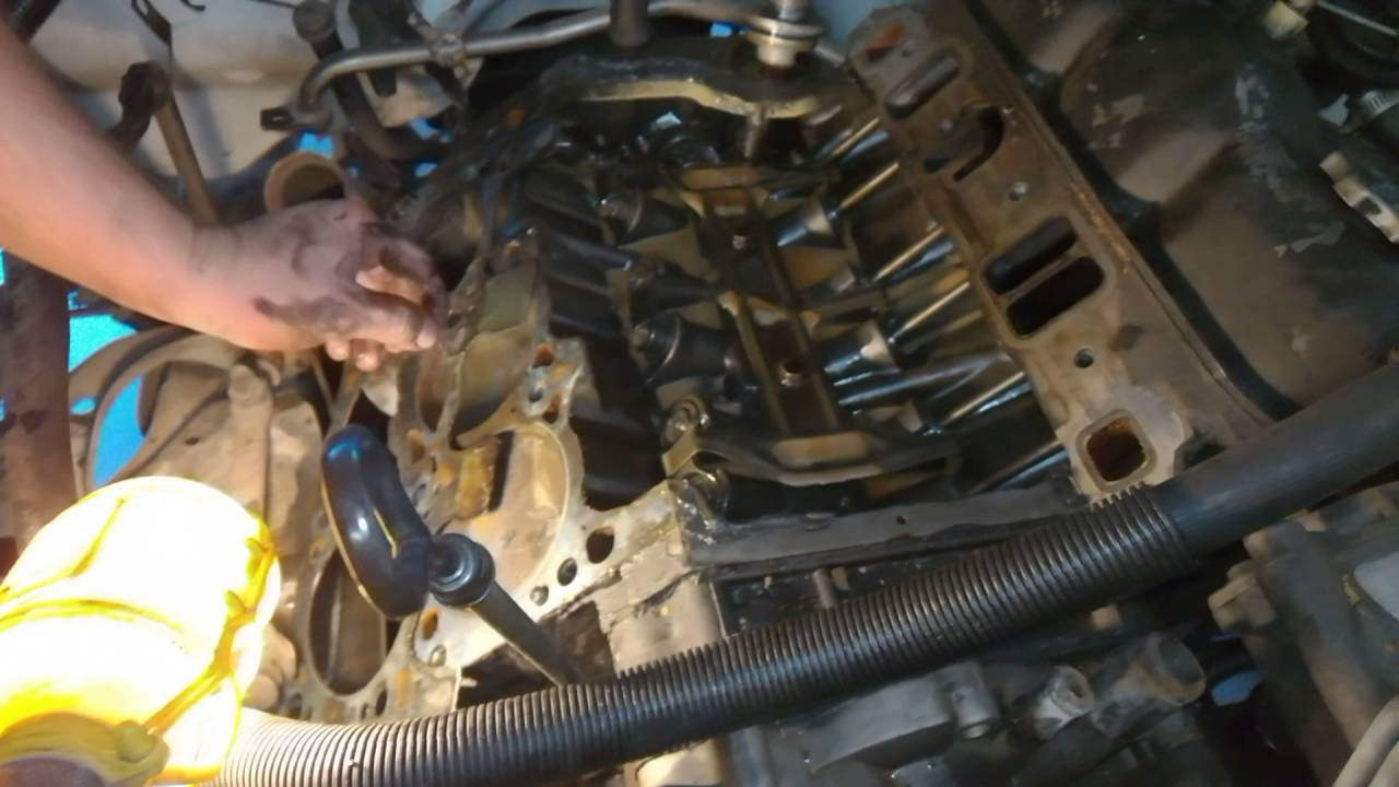 Blown Head Gasket On 1988 Dodge Dakota 3 9 V6 Youtube