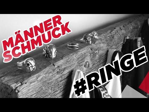 Männer Schmuck - Meine Top 5 Ringe   Marc Eggers