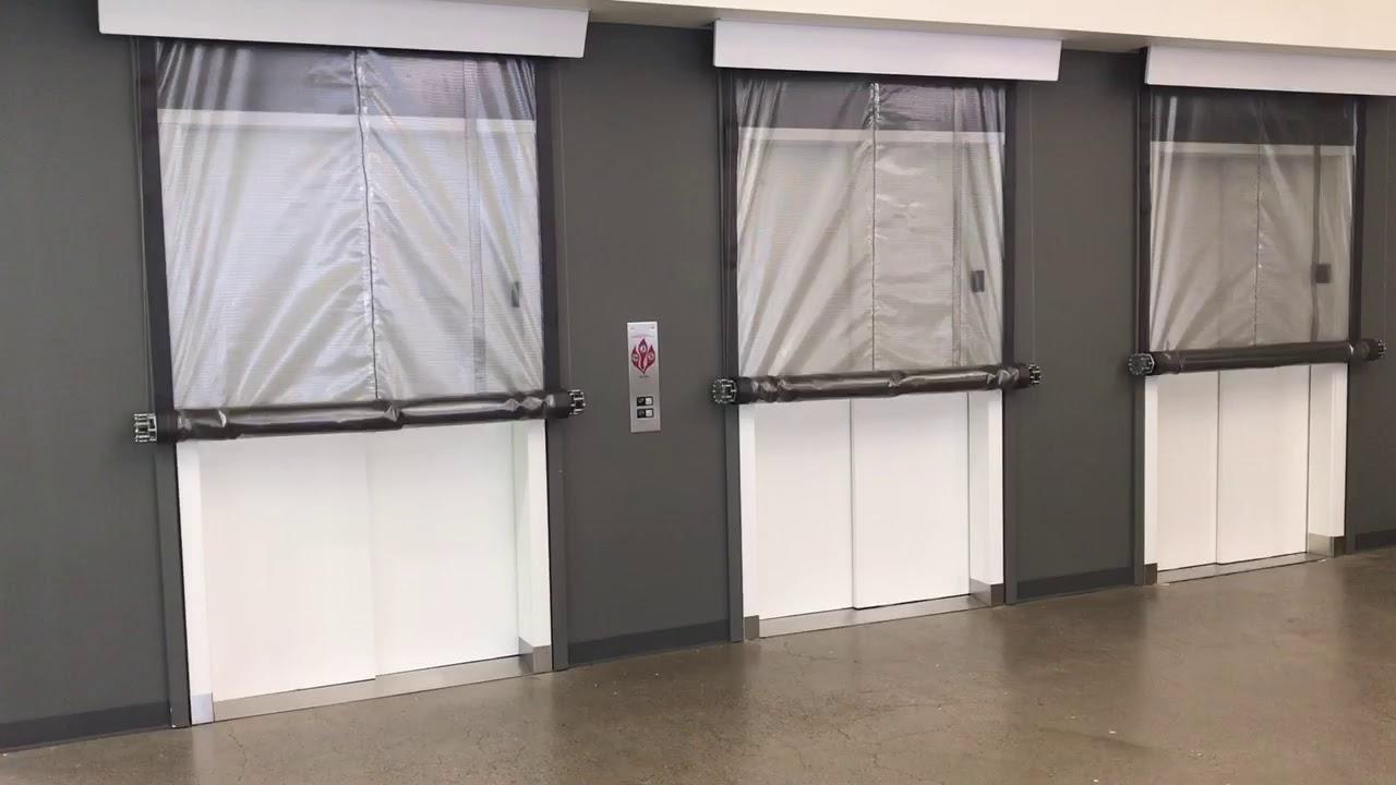 Elevator Smoke Curtains