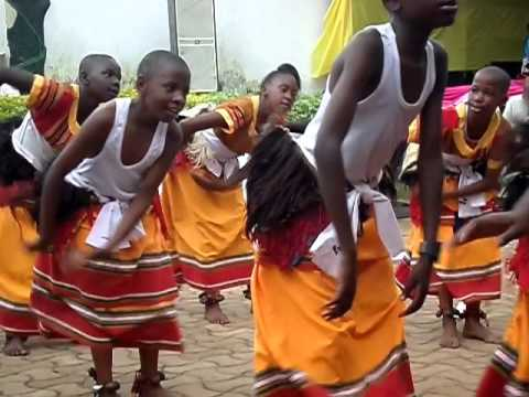 KAWEMPE JUNIOR SCHOOL PERFORM (KIGANDA DANCE)