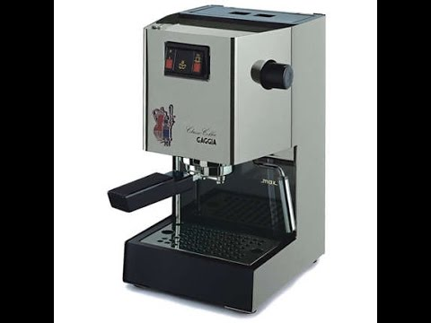 Gaggia Classic, Specific Detailed Overview And Component Parts