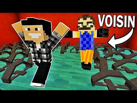 MON VOISIN VEUT ME KIDNAPPER ! | Hello Neighbor Minecraft !