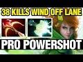 PRO POWERSHOT - Ana Play Windranger - Dota 2