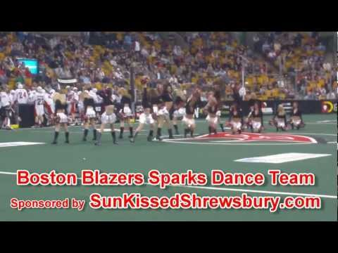 Boston Blazers Sparks Dance Team Performance